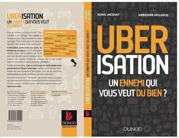 couverture livre uberisation